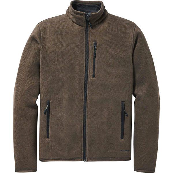 フィルソン メンズ ジャケット&ブルゾン アウター Ridgeway Fleece Jacket - Men's Dark Brown