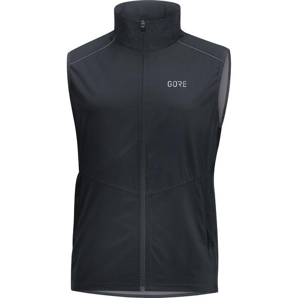 ゴアウェア メンズ ベスト トップス R3 Gore Windstopper Vest - Men's Black