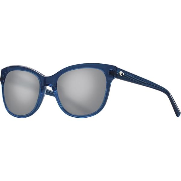 コスタ レディース サングラス&アイウェア アクセサリー Bimini 580G Polarized Sunglasses - Women's Shiny Deep Teal Crystal/Gray