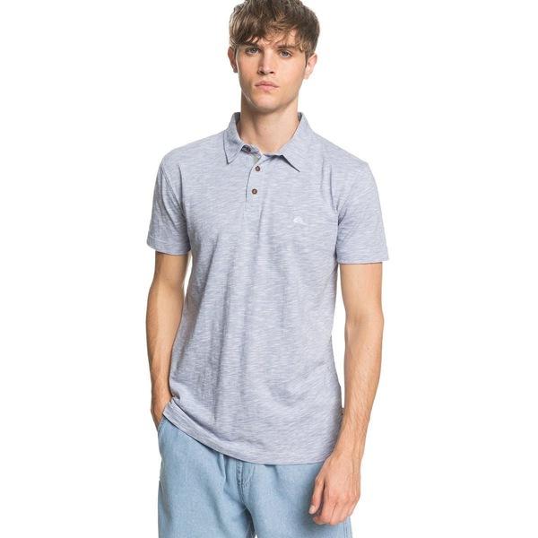 クイックシルバー メンズ シャツ トップス Everyday Sun Cruise Polo Shirt - Men's Stone Wash