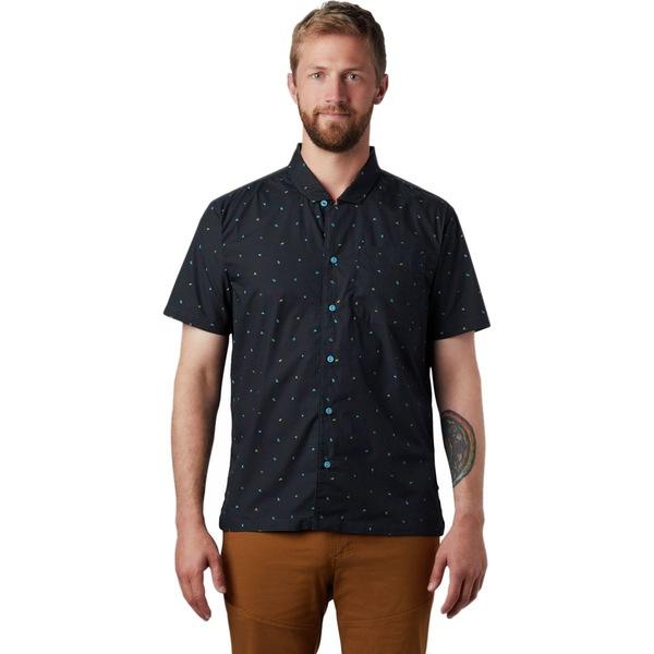 マウンテンハードウェア メンズ シャツ トップス Hand/Hold Printed Short-Sleeve Shirt - Men's Dark Storm Cam Print