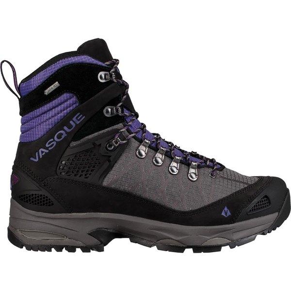バスク レディース ハイキング スポーツ Saga GTX Backpacking Boot - Women's Blackberry/Ultra Violet