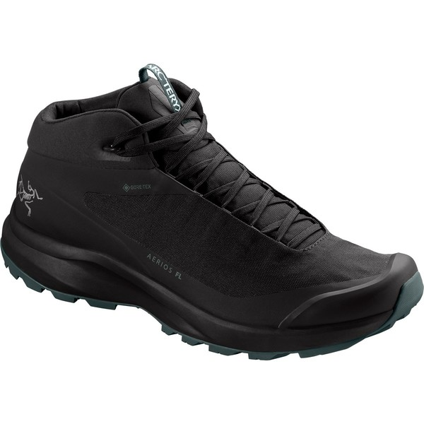 アークテリクス メンズ ハイキング スポーツ Aerios FL GTX Mid Hiking Boot - Men's Black/Cinder