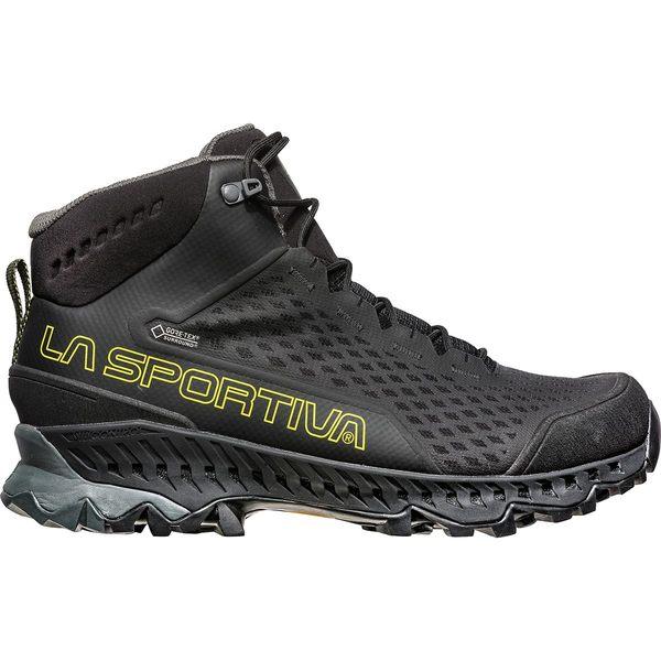 ラスポルティバ メンズ ハイキング スポーツ Stream GTX Boot - Men's Black/Yellow