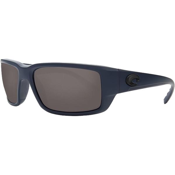 コスタ メンズ サングラス・アイウェア アクセサリー Fantail 580P Polarized Sunglasses Midnight Blue Frame/Gray