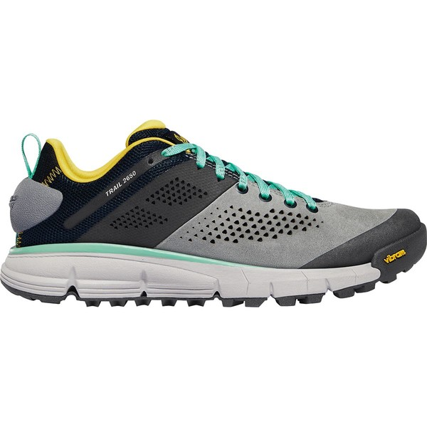 ダナー レディース ハイキング スポーツ Trail 2650 Hiking Shoe - Women's Gray Blue/Spectra Yellow