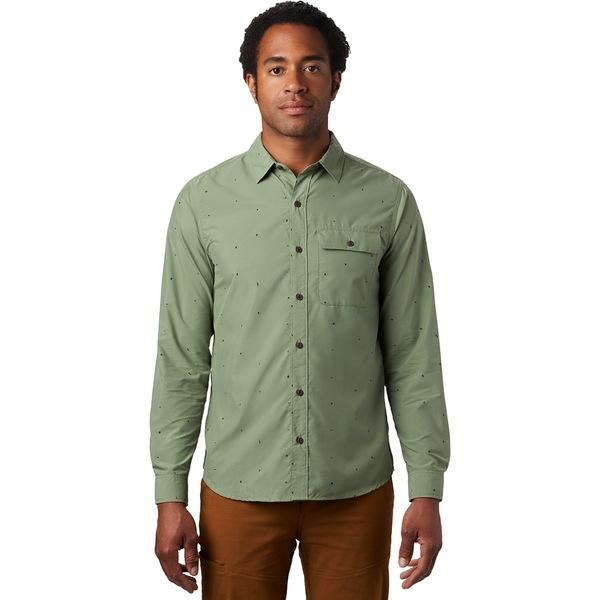 マウンテンハードウェア メンズ シャツ トップス Greenstone Long-Sleeve Shirt - Men's Field Scatter Dot Print