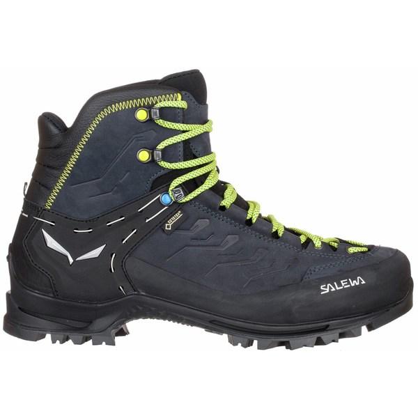 サレワ メンズ ハイキング スポーツ Rapace GTX Boot - Men's Night Black/Kamille