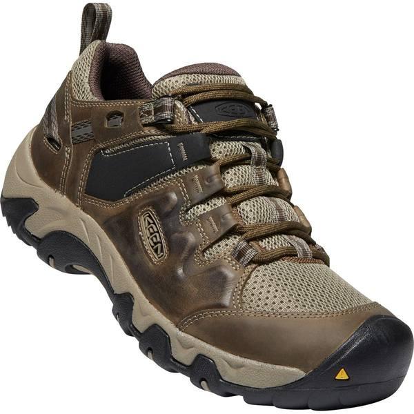 キーン メンズ ハイキング スポーツ Steens Vent Hiking Shoe - Men's Canteen/Brindle