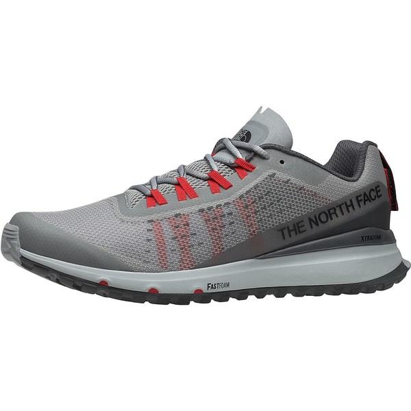 ノースフェイス メンズ ランニング スポーツ Ultra Swift Trail Running Shoe - Men's High Rise Grey/Dark Shadow Grey