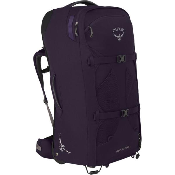 オスプレーパック レディース ボストンバッグ バッグ Fairview Wheeled 65L Travel Pack Amulet Purple
