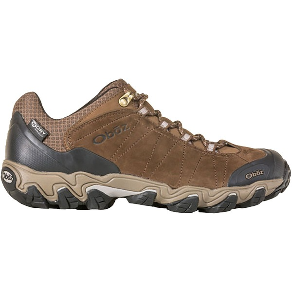 オボズ メンズ ハイキング スポーツ Bridger Low B-Dry Hiking Shoe - Men's Canteen Brown