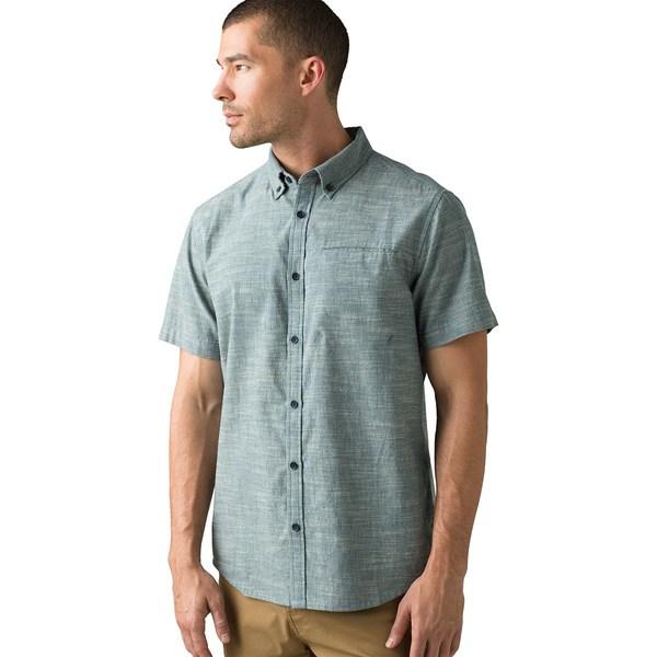 プラーナ メンズ シャツ トップス Agua Slim Shirt - Men's Atlantic