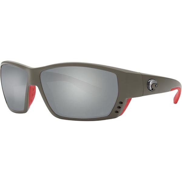 コスタ メンズ サングラス・アイウェア アクセサリー Tuna Alley 580G Polarized Sunglasses Race Gray Frame/Gray Silver Mirror