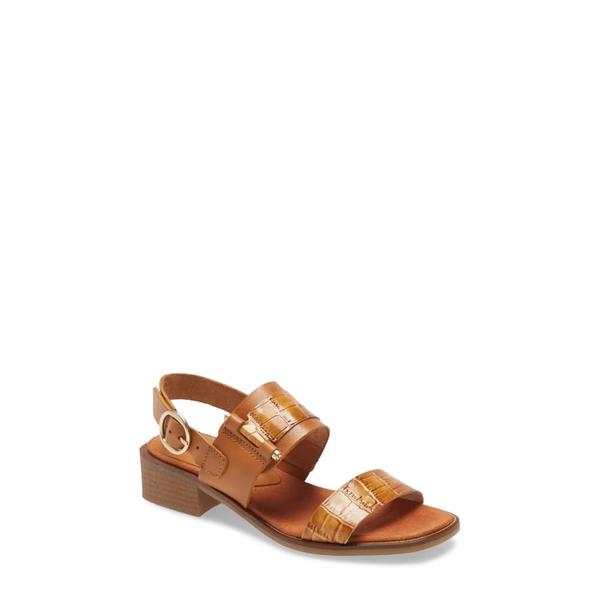 ヒスパニタス レディース サンダル シューズ Ava Sandal Honey Leather