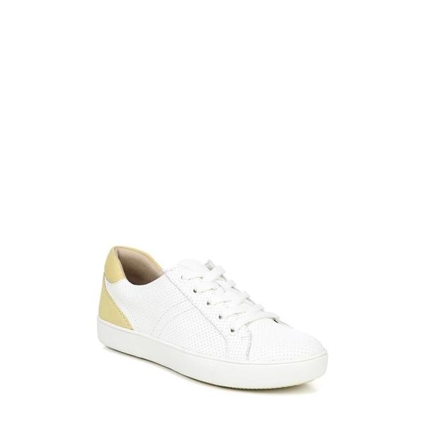 ナチュライザー レディース スニーカー シューズ Morrison Sneaker White Perforated Leather