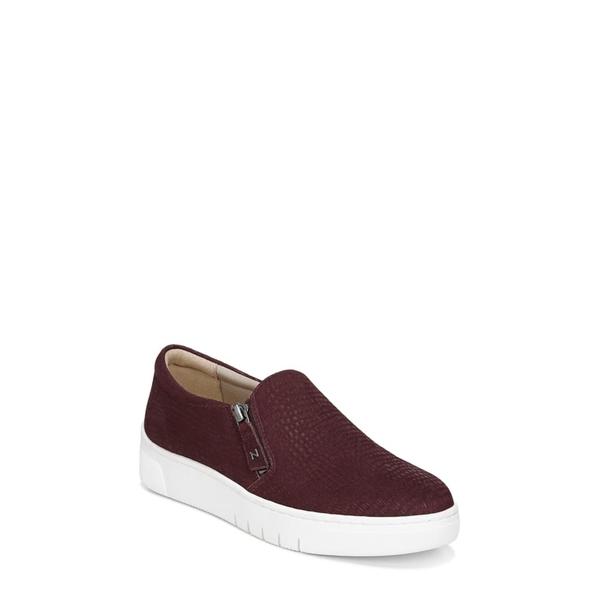 ナチュライザー レディース スニーカー シューズ Hawthorn Platform Sneaker Red Leather