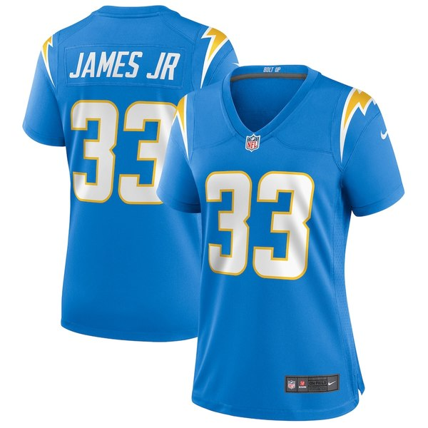 ナイキ レディース シャツ トップス Derwin James Los Angeles Chargers Nike Women's Game Player Jersey Powder Blue