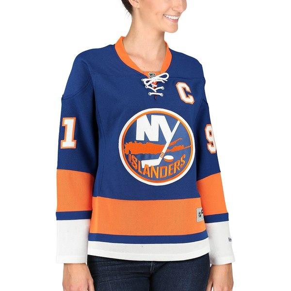 リーボック レディース シャツ トップス John Tavares New York Islanders Reebok Women's Premier Player Jersey Royal Blue
