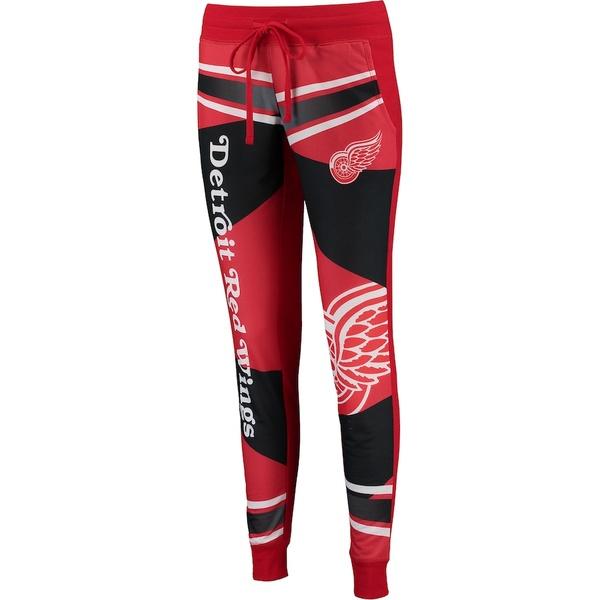 コンセプトスポーツ レディース カジュアルパンツ ボトムス Detroit Red Wings Concepts Sport Women's Fanbase Jogger Pants Red