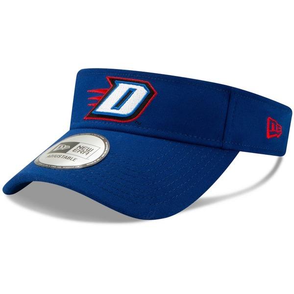 ニューエラ メンズ 帽子 アクセサリー DePaul Blue Demons New Era Flash Visor Royal:asty