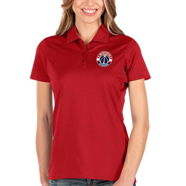 アンティグア レディース ポロシャツ トップス Washington Wizards Antigua Women's Balance Polo Red