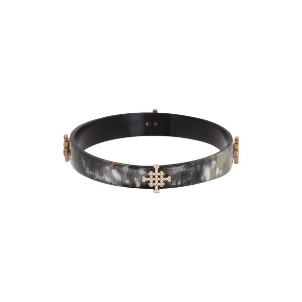 アコラ レディース アクセサリー ブレスレット バングル アンクレット BLACK 全商品無料サイズ交換 Crystal Horn Icon Bracelet Lenox Bangle 買い取り Pave 日本