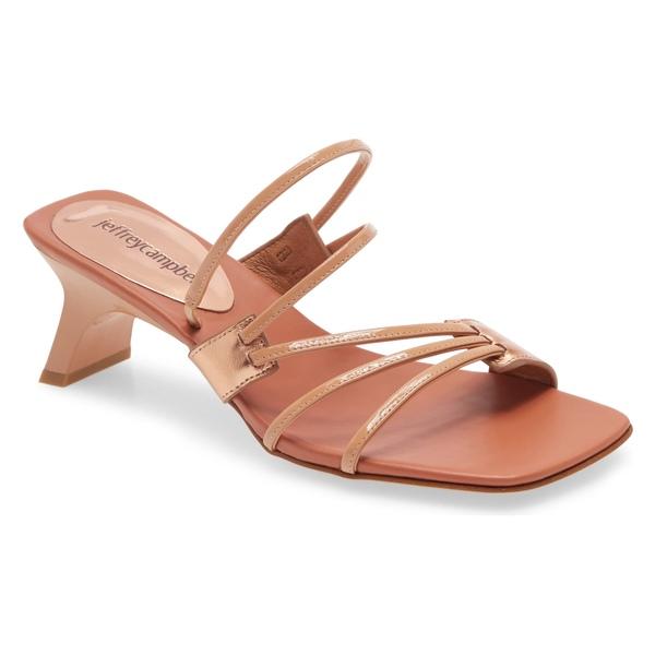 ジェフリー キャンベル レディース サンダル シューズ Jeffrey Campbell Cherri Strappy Sandal (Women) Rose Multi Leather