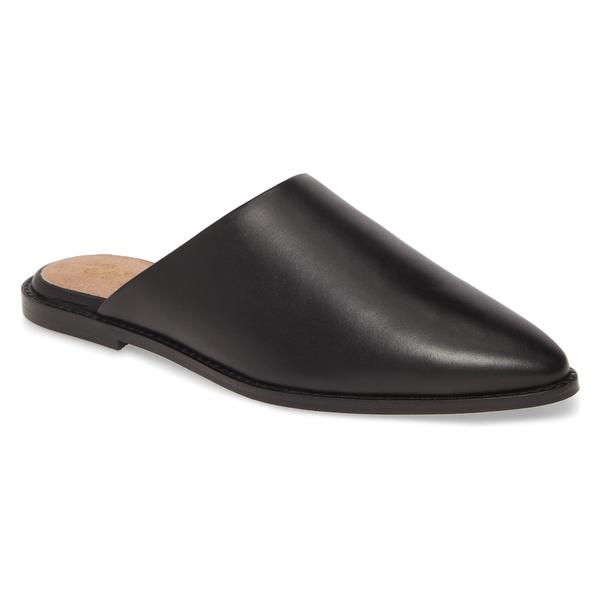 セイシェルズ レディース サンダル シューズ Seychelles Impersonate Mule (Women) Black Leather