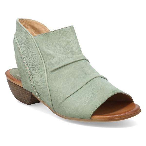 ミズムーズ レディース サンダル シューズ Miz Mooz Chase Sandal (Women) Seafoam Leather
