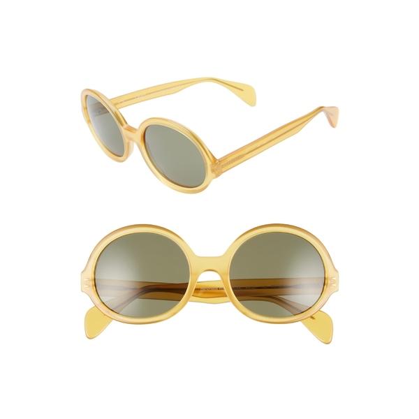 オスカーデラレンタ レディース サングラス&アイウェア アクセサリー Oscar de la Renta x Morgenthal Frederics Regina 55mm Sunglasses Butterscotch Amber
