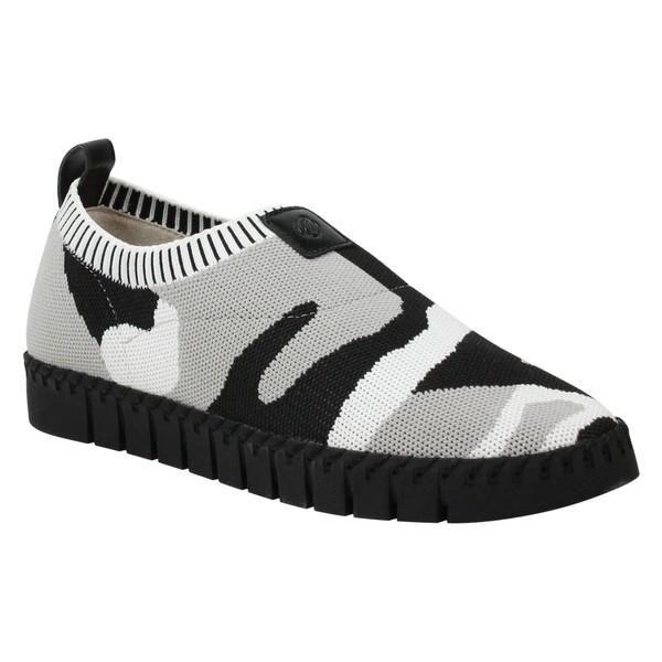 ジェイレニー レディース スニーカー シューズ J. Rene Donnia Slip-On Sneaker (Women) Camo Print Fabric