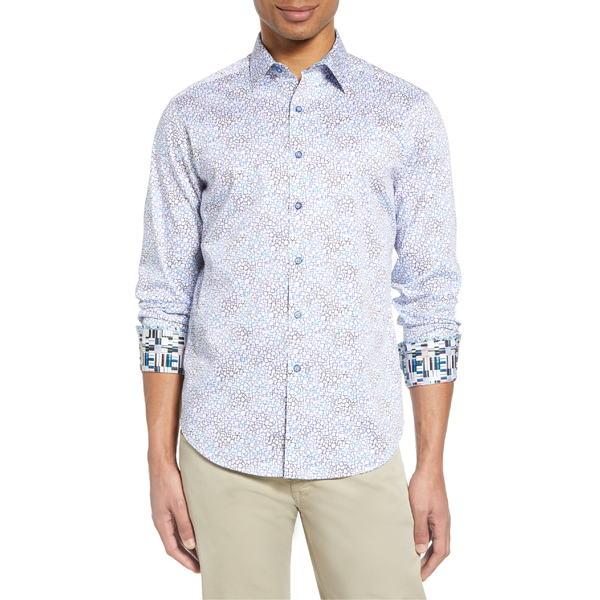 ロバートグラハム メンズ シャツ トップス Robert Graham Button-Up Shirt White