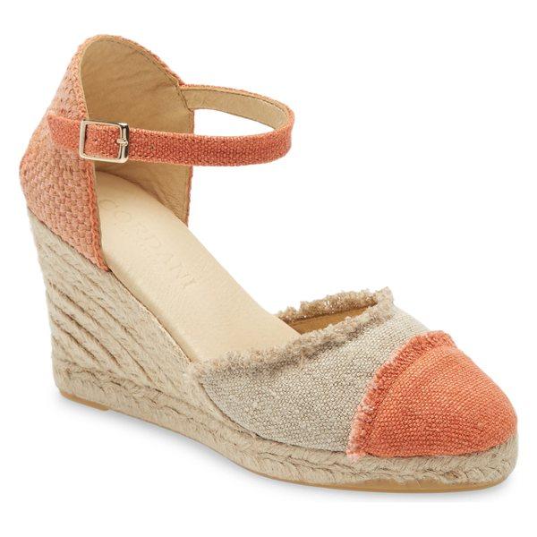コルダーニ レディース サンダル シューズ Cordani Erma Platform Wedge Sandal (Women) Orange Fabric