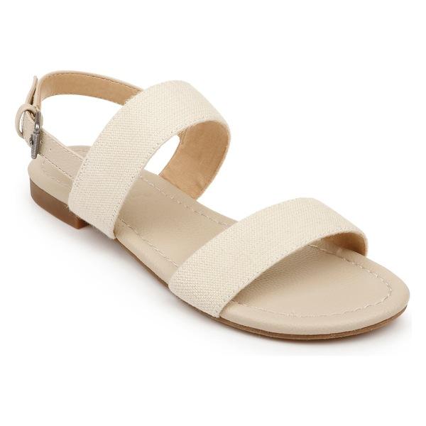 スプレンディット レディース サンダル シューズ Splendid Andrew Quarter Strap Sandal (Women) Natural Fabric