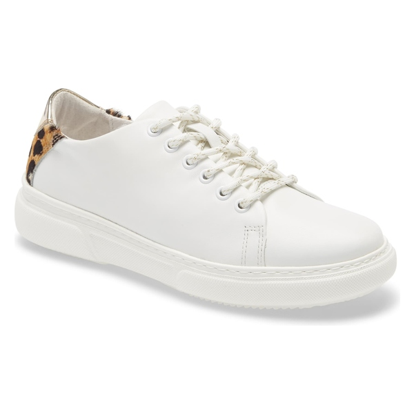 ジョンストンアンドマーフィー レディース スニーカー シューズ Johnston & Murphy Nona Sneaker (Women) White Nappa Leather