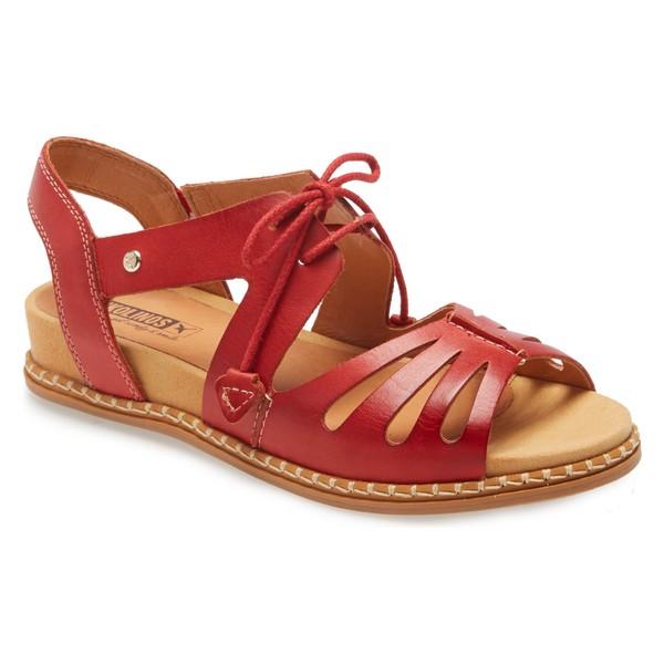 ピコリーノス レディース サンダル シューズ PIKOLINOS Marazul Sandal (Women) Coral Leather