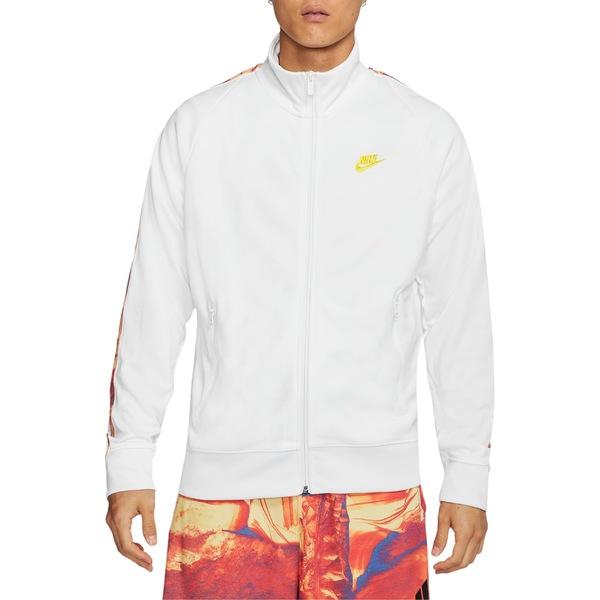 ナイキ メンズ ジャケット&ブルゾン アウター Nike Sportswear Tribute Jacket White
