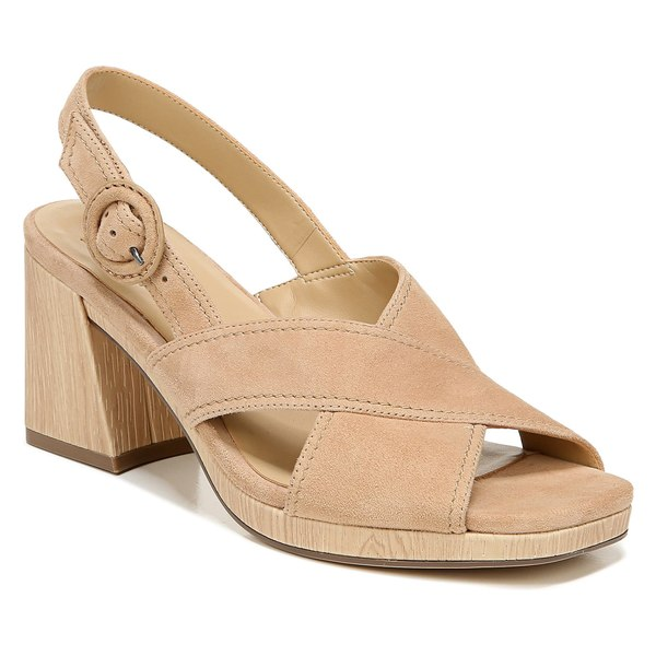 ナチュライザー レディース サンダル シューズ Naturalizer Renly Slingback Sandal (Women) Bamboo Tan Suede