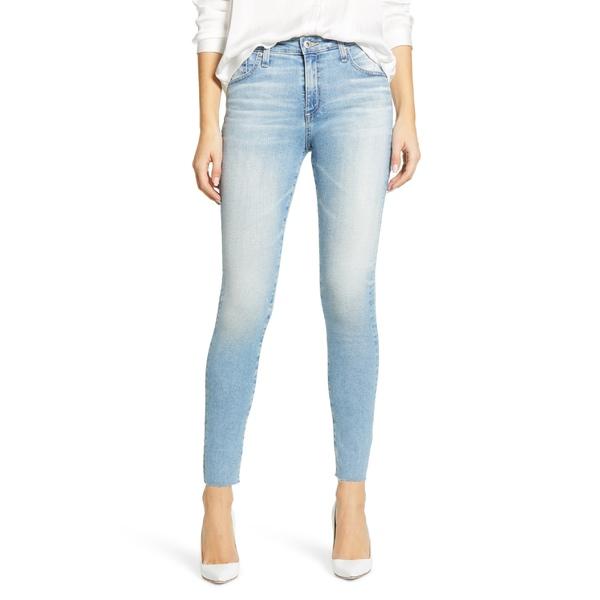 エージー レディース カジュアルパンツ ボトムス AG The Farrah High Waist Ankle Skinny Jeans 22 Years Redemptive