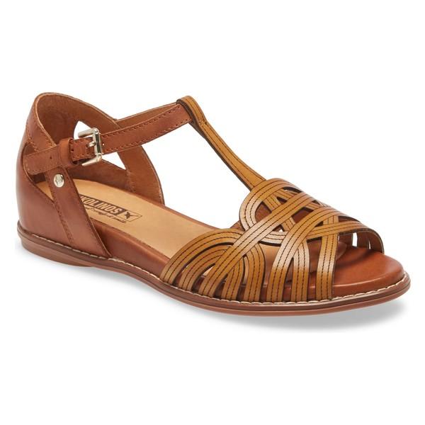 ピコリーノス レディース サンダル シューズ PIKOLINOS Talavera Wedge Sandal (Women) Honey Leather