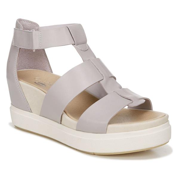 ドクター・ショール レディース サンダル シューズ Dr. Scholls Saffron Wedge Sandal (Women) Purple Leather