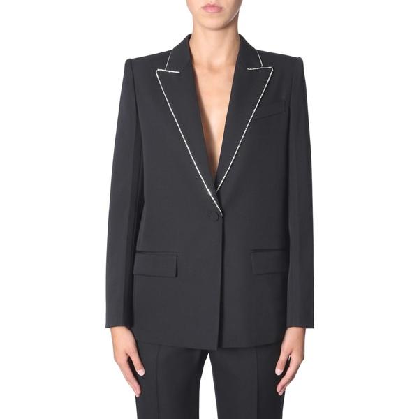 ジバンシー レディース ジャケット&ブルゾン アウター Givenchy Wool Blazer With Strass NERO