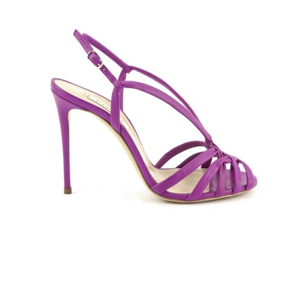 カサディ レディース サンダル シューズ Casadei Fuchsia High-heel Minorca Sandals Fuxia