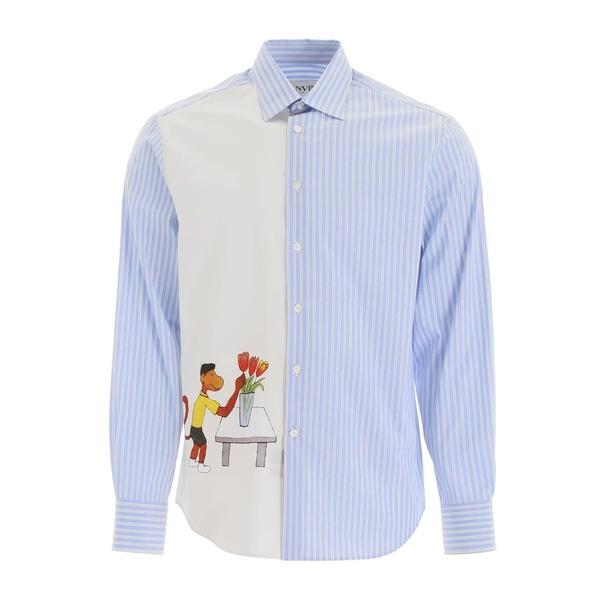 ランバン メンズ シャツ トップス Lanvin Babar Shirt ICEBLUELightblue