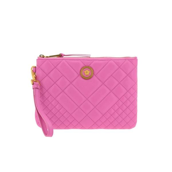 ヴェルサーチ レディース クラッチバッグ バッグ Versace Clutch Shoulder Bag Women Versace pink