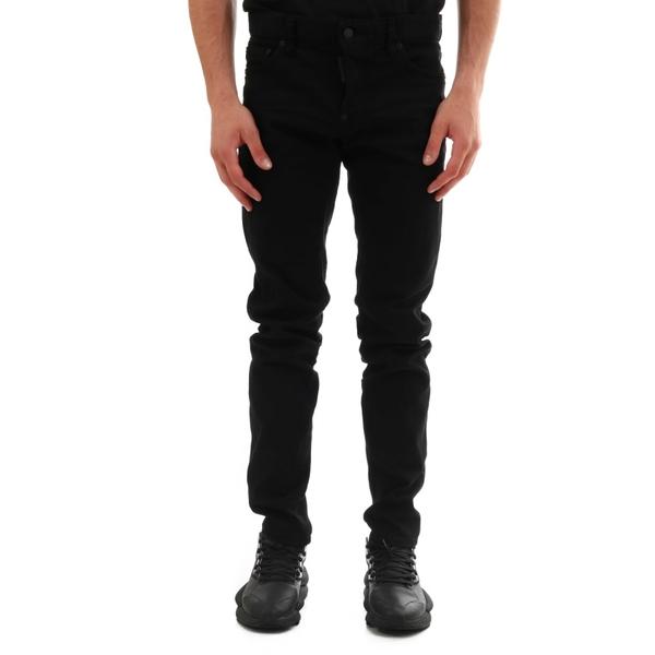 ディースクエアード メンズ デニムパンツ Slim ボトムス メンズ Dsquared2 Black Slim Jeans Black Black, Penny Lane:34c2a827 --- officewill.xsrv.jp
