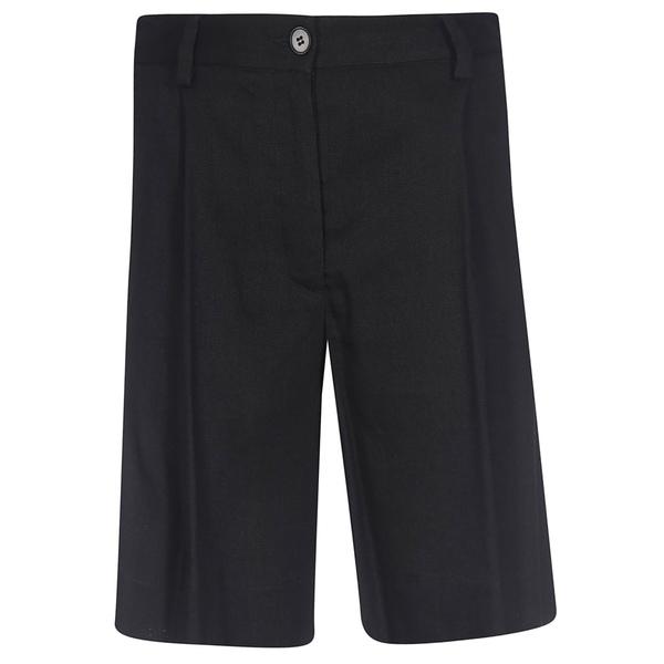 バレナ レディース カジュアルパンツ ボトムス Barena High Waist Shorts Black