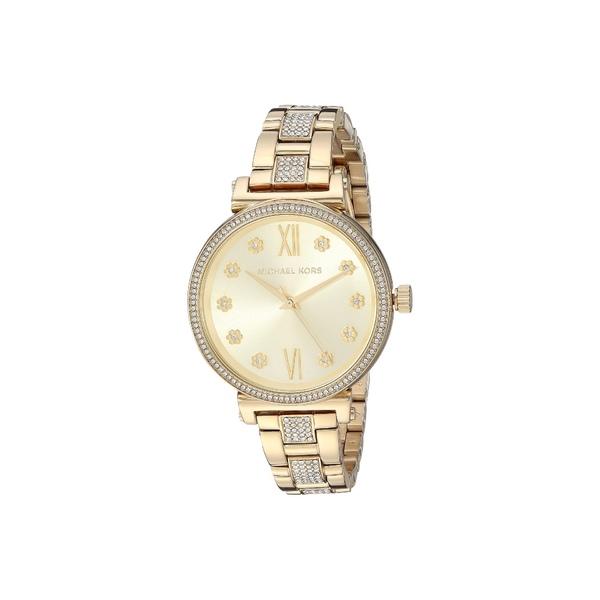 マイケルコース レディース 腕時計 アクセサリー MK3881 - Sofie Gold
