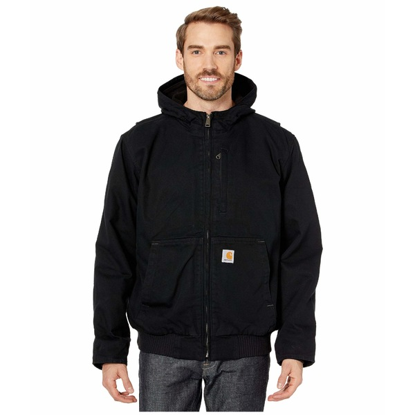 カーハート メンズ コート アウター Full Swing Armstrong Active Jacket Black